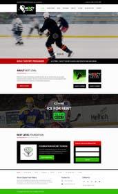 #12 for Design a Website Mockup for NextLevelHockey af kreativeminds