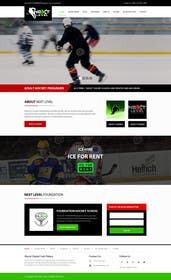 #12 cho Design a Website Mockup for NextLevelHockey bởi kreativeminds