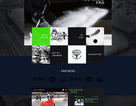 #25 cho Design a Website Mockup for NextLevelHockey bởi Artnetta
