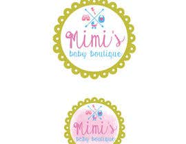 #4 cho Design a Logo for 'Mimi's baby boutique' bởi sandrasreckovic