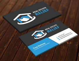 imtiazmahmud80 tarafından Design some Business Cards for Real Estate Relief için no 72
