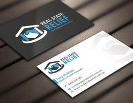 #63 untuk Design some Business Cards for Real Estate Relief oleh Derard