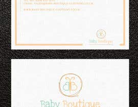 #76 untuk Design some Business Cards for Baby Boutique oleh arman956479