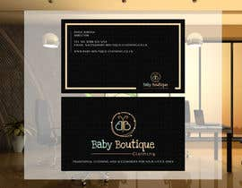 #77 untuk Design some Business Cards for Baby Boutique oleh arman956479