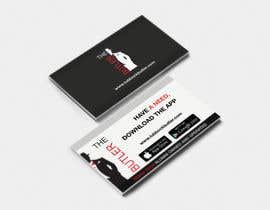 #19 untuk Design some Business Cards for The Butler oleh apoorvmehta