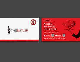 #7 for Design some Business Cards for The Butler by einsanimation