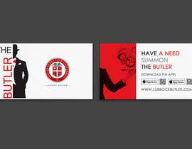 #8 untuk Design some Business Cards for The Butler oleh einsanimation