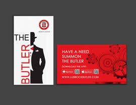 #16 untuk Design some Business Cards for The Butler oleh einsanimation