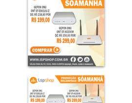 Nro 5 kilpailuun Projetar campanha promocional (05 banners e 01 newslletter) käyttäjältä imagencreativajp