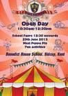 Graphic Design Kilpailutyö #8 kilpailuun Design a Flyer for School Open Day