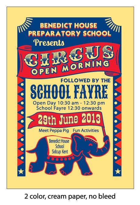 Inscrição nº 26 do Concurso para Design a Flyer for School Open Day
