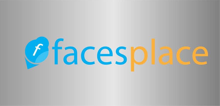 Kilpailutyö #190 kilpailussa Design a Logo for facesplace