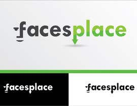 #124 for Design a Logo for facesplace af Gordana86