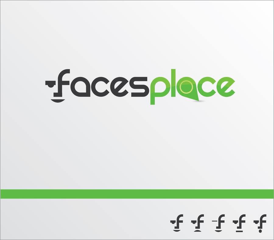 Kilpailutyö #125 kilpailussa Design a Logo for facesplace
