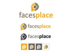 #120 para Design a Logo for facesplace por krizzykreme