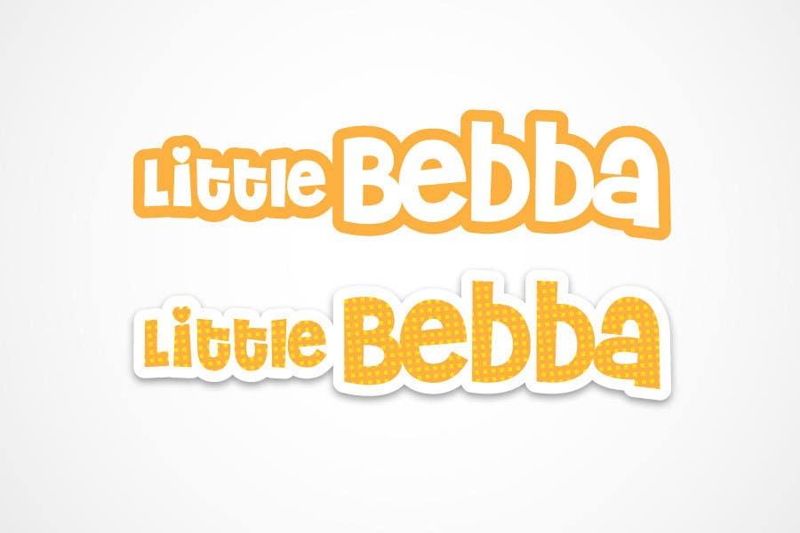 Contest Entry #                                        176                                      for                                         Logo Design for Little Bebba