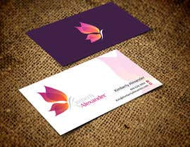 #36 untuk Design a Business Card for Women's Empowerment Speaker oleh ezesol