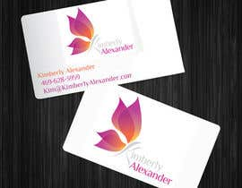 #8 untuk Design a Business Card for Women's Empowerment Speaker oleh acmstha55
