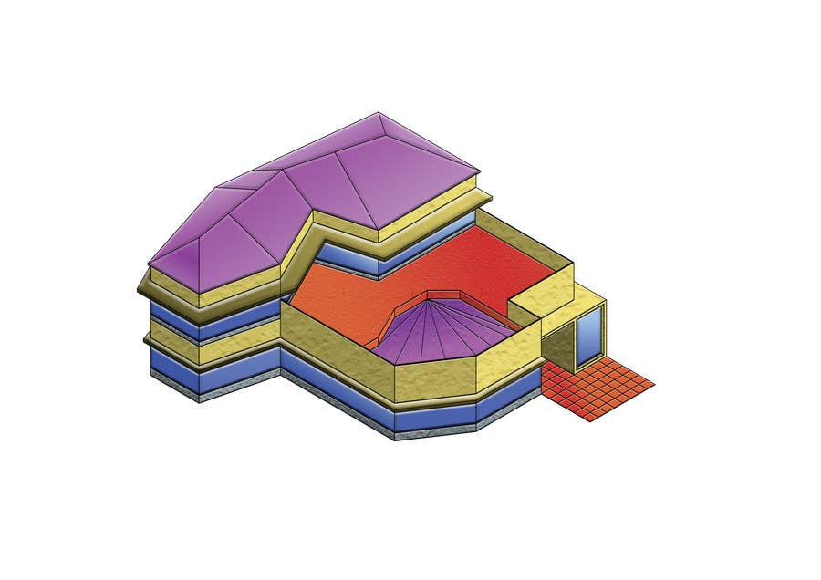 Inscrição nº 6 do Concurso para Isometric Buildings for Android Game