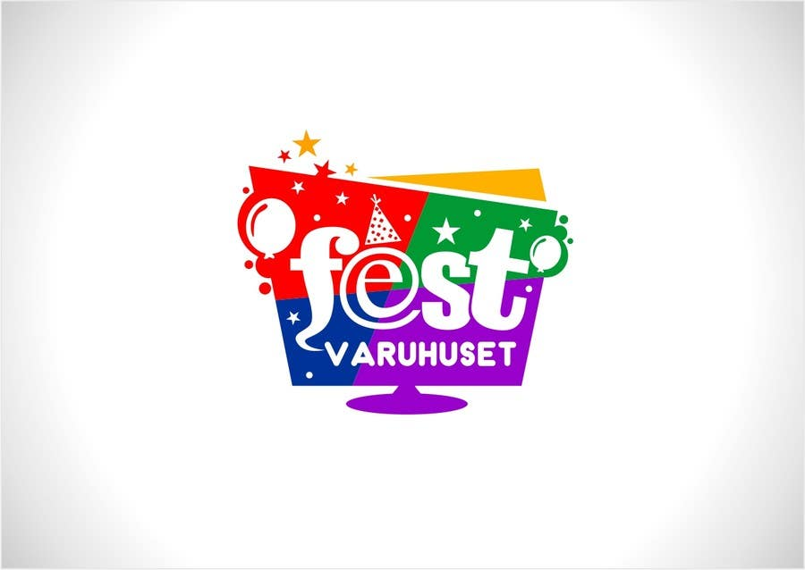 Konkurrenceindlæg #72 for Party supplies webstore logo