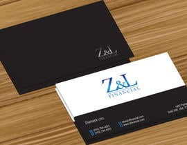 jobee tarafından Design some Business Cards for Z and L financial için no 58