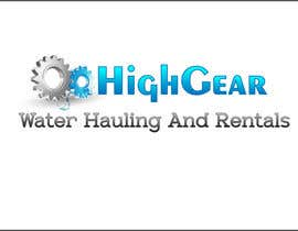 #50 for Redesign/revisualization of the current Logo for High Gear Water Hauling & Rentals af roborean
