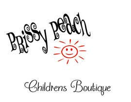 #53 for Design a Logo for Prissy Peach Childrens Boutique af simonad1