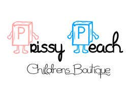 #54 for Design a Logo for Prissy Peach Childrens Boutique af simonad1