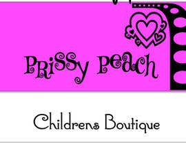 simonad1 tarafından Design a Logo for Prissy Peach Childrens Boutique için no 56