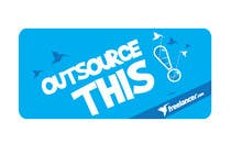 "#168 for Logo Design for Want a sticker designed for Freelancer.com ""Outsource this!"" by pradeepkc"