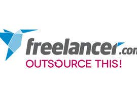 "#78 untuk Logo Design for Want a sticker designed for Freelancer.com ""Outsource this!"" oleh markkarolo"