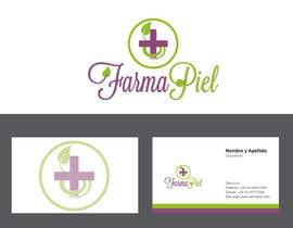 AudreyMedici tarafından Diseñar un logotipo y tarjetas de presentacion para FarmaPiel için no 12