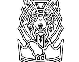 #14 for Design a Tattoo of a white wolf af skrasnoperova