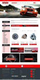 #21 untuk Design a Website Mockup for an auto parts wesbite oleh KatelynJB