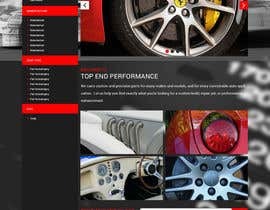 #19 untuk Design a Website Mockup for an auto parts wesbite oleh zaxsol