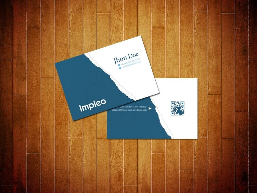 Contest Entry #                                        116                                      for                                         Business Card Design for Impleo