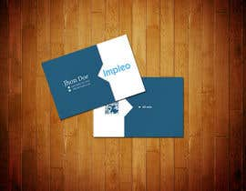 #119 pentru Business Card Design for Impleo de către StrujacAlexandru