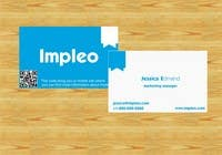 Proposition n° 127 du concours Graphic Design pour Business Card Design for Impleo