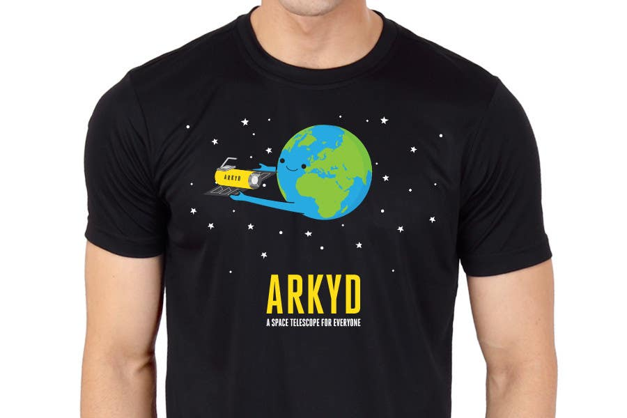 #1760 for Earthlings: ARKYD Space Telescope Needs Your T-Shirt Design! by RamonDNC