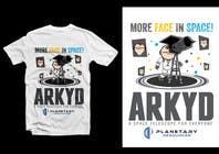 Graphic Design Inscrição do Concurso Nº1766 para Earthlings: ARKYD Space Telescope Needs Your T-Shirt Design!
