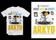 Graphic Design Inscrição do Concurso Nº1776 para Earthlings: ARKYD Space Telescope Needs Your T-Shirt Design!