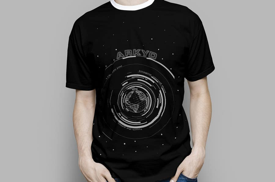 Bài tham dự cuộc thi #2458 cho Earthlings: ARKYD Space Telescope Needs Your T-Shirt Design!