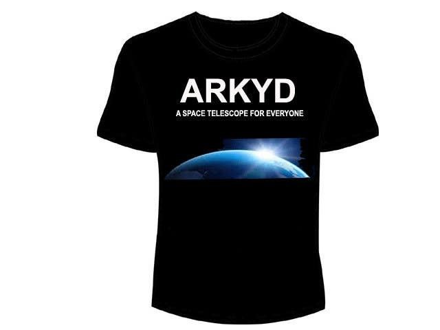 #318 para Earthlings: ARKYD Space Telescope Needs Your T-Shirt Design! de avijitsurnetcons