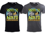 Bài tham dự #160 về Graphic Design cho cuộc thi Earthlings: ARKYD Space Telescope Needs Your T-Shirt Design!