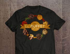#2 for Design eines T-Shirts for Buffet Restaurant for a crowfunding camp. in germany by williambeuk