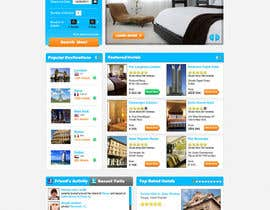 #102 pentru Website Design for Hoteltrotter de către firethreedesigns