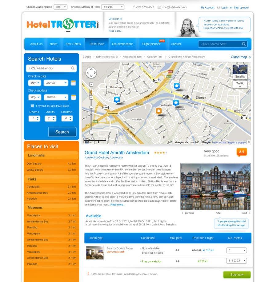 Contest Entry #88 for Website Design for Hoteltrotter