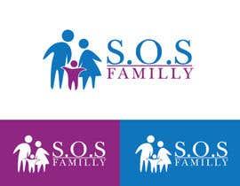 Nro 123 kilpailuun Design a Logo for S.O.S. Famille käyttäjältä ibrandstudio