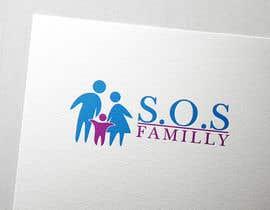 Nro 125 kilpailuun Design a Logo for S.O.S. Famille käyttäjältä ibrandstudio