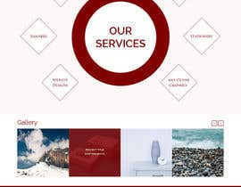 Nro 17 kilpailuun Design a Website Mockup for Graphics website käyttäjältä ravinderss2014